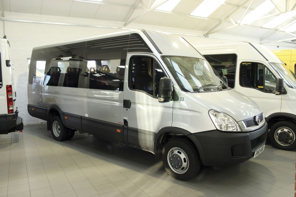 Representing a saving of around £20,000 on new yet with only 3,000 miles on the clock was this well specified 2012 Irisbus Iveco Daily 50C17 12 seater
