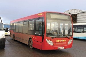 Six Enviro200s currently operate for D&G and a further batch of new ones have just been delivered to South Lancs