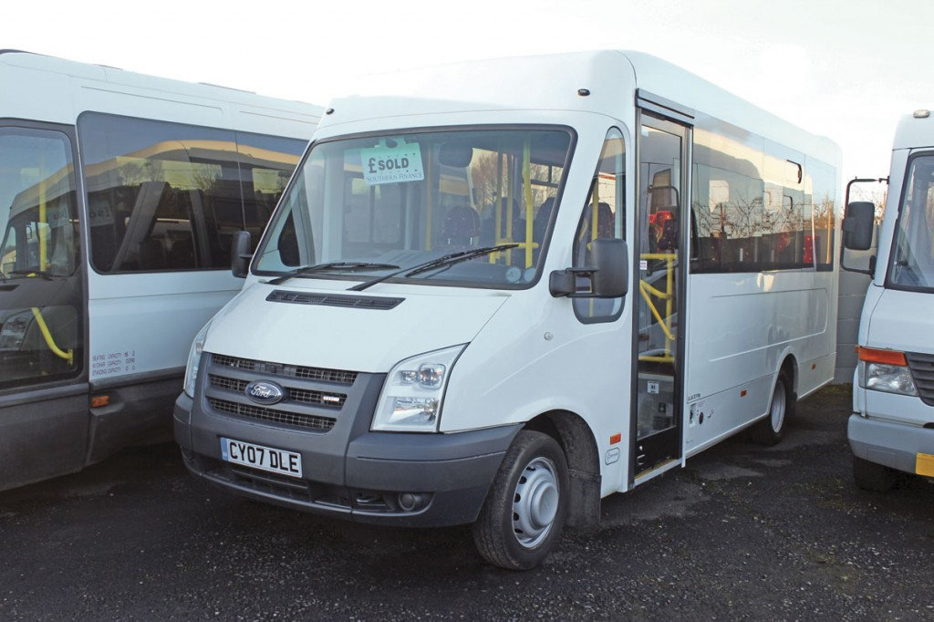 Sold but not yet delivered was this UVG Treka bodied Ford Transit