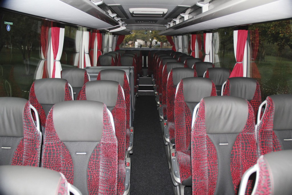 The interior of the ComfortClass S511HD