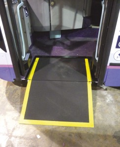 The latest product from Ricon is its R Series of bus ramps