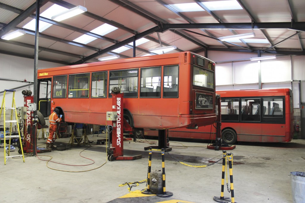 The new Crewe workshop interior