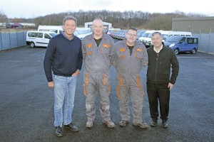 Wayne Heaton, Stephen Ensor, Paul Heyes and Phil Broadhurst
