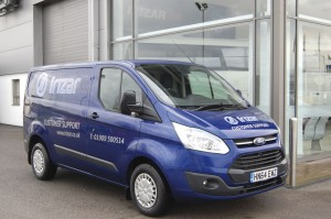 Irizar UK now has it first van based engineer on the road