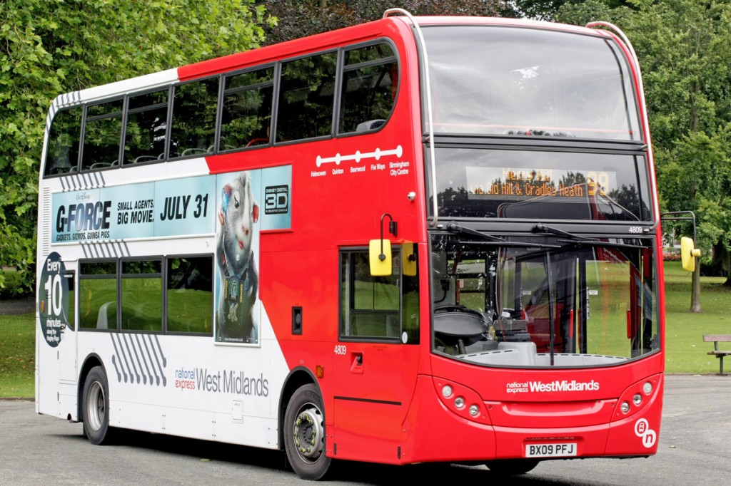 National Express West Midlands has used Vickers to improve its energy efficiency