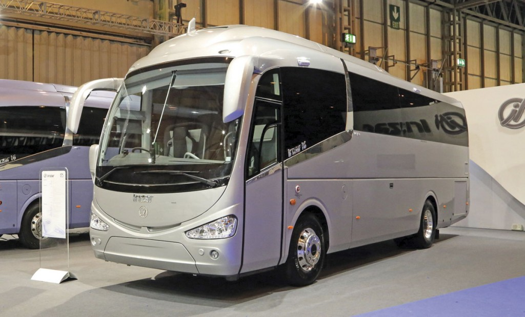 The 10.8m version of the i6 launched at Euro Bus Expo