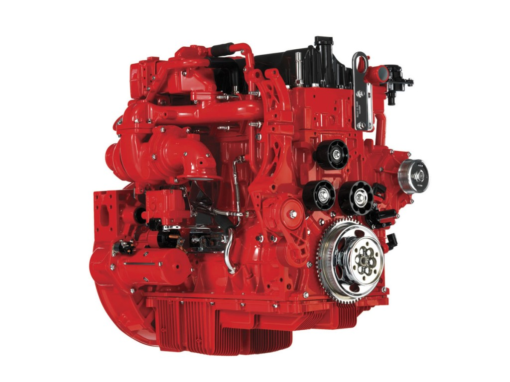 The Cummins ISB4.5 Euro6 engine