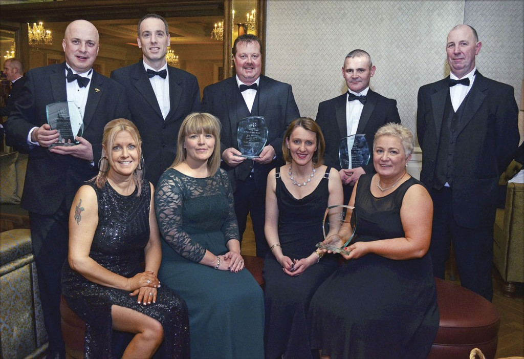 The Translink team with their clutch of Awards