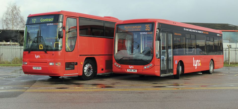 The livery has been applied to every bus in the fleet.