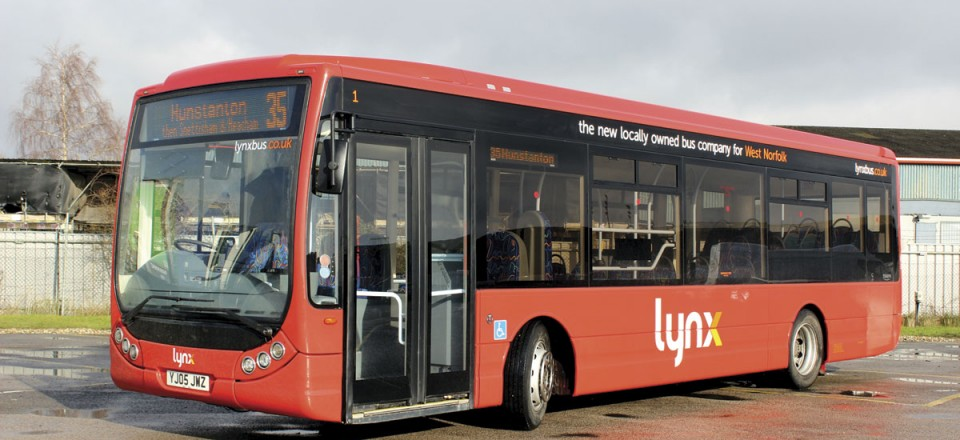 This 10.6m former demonstrator was acquired from Optare.