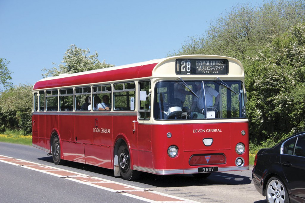 A preserved Devon General AEC Reliance