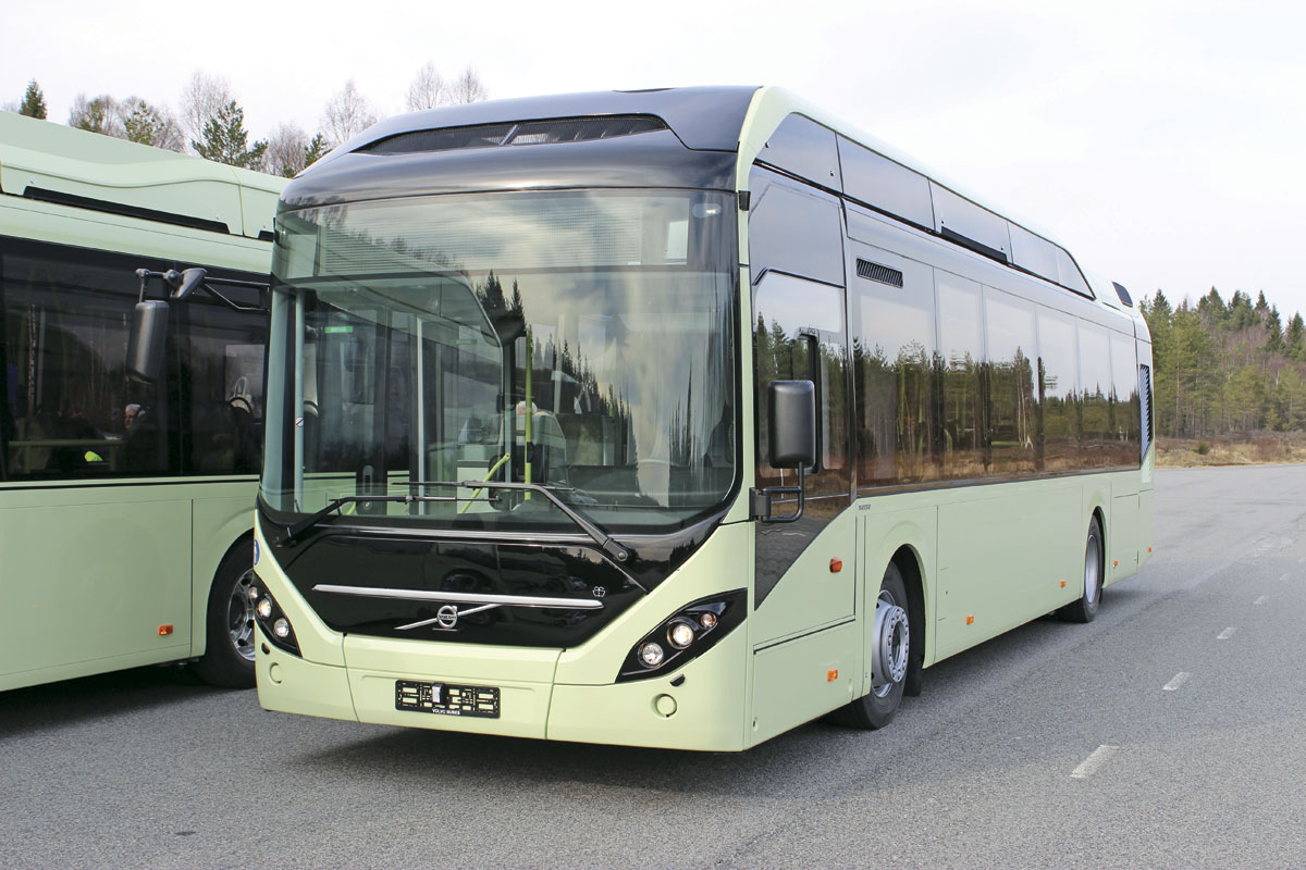 The ElectriCity project will also involve a fleet of Volvo 7900 Electric Hybrids