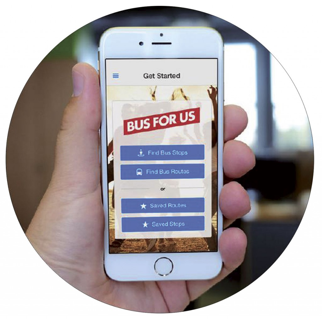 'Bus for Us' app