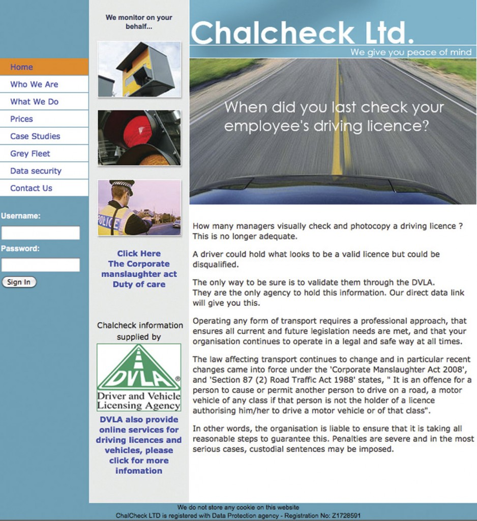 Chalcheck's homepage