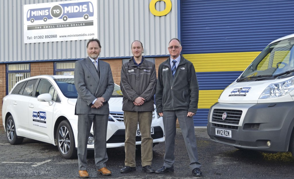 Family values are key at Minis to Midis. Below, Alan's brother Steve, his son Jamie and Alan