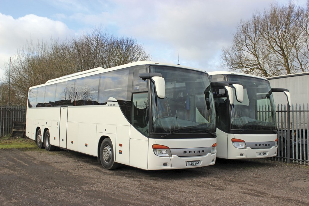 John Hill Coach Sales are offering eight similar vehicles, the first two of which are now at their Melton Mowbray premises