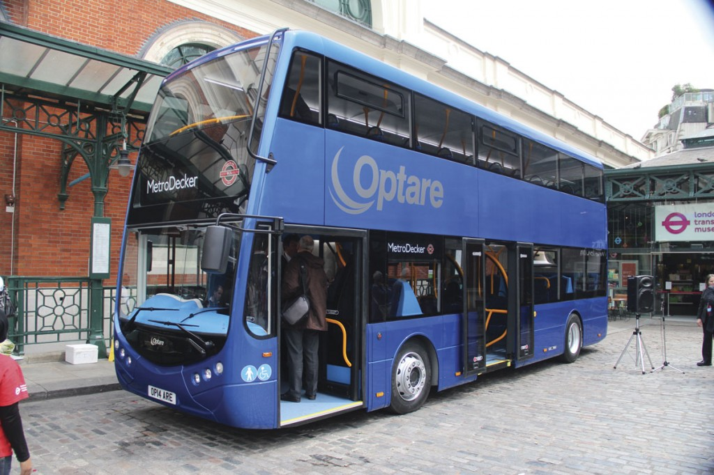 Optare works closely with engine manufacturers during integration of their engines into its vehicles