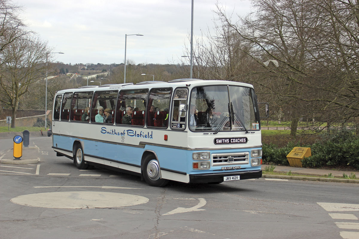 53 seat Plaxton Supreme bodied Bedford YMT
