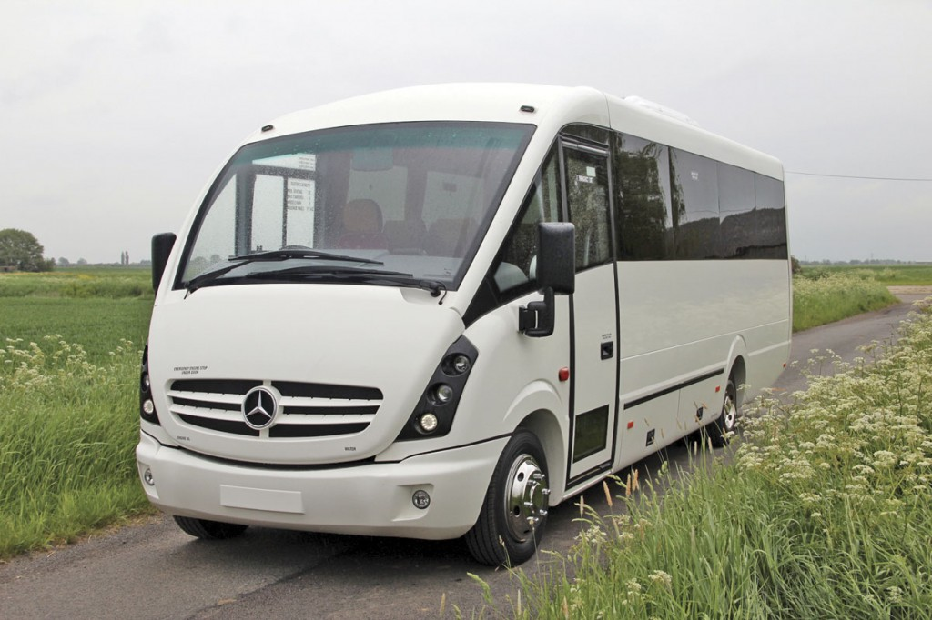 A hard act to follow, the Plaxton Cheetah on the Mercedes-Benz Vario