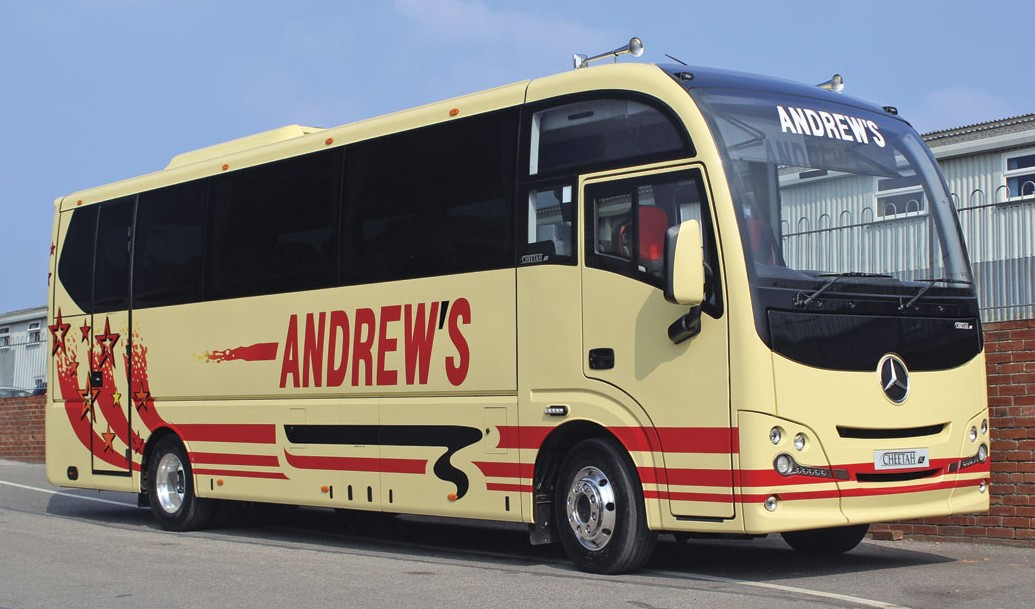 Andrews of Tideswell will be using their Cheetah XL on a wide variety of work