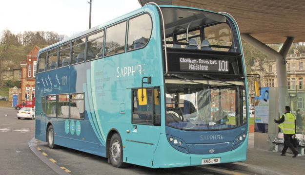 Double deckers on Arriva Sapphire route