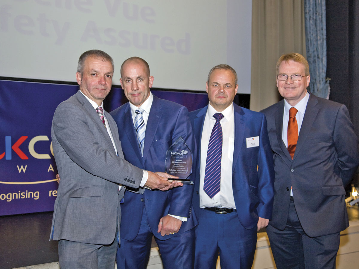 Belle Vue, Manchester won the B&CB sponsored Technology & Innovation award