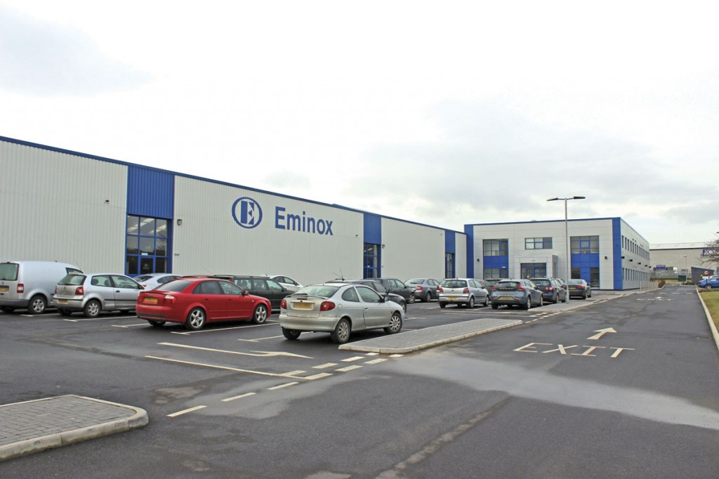 Eminox's new plant in Gainsborough