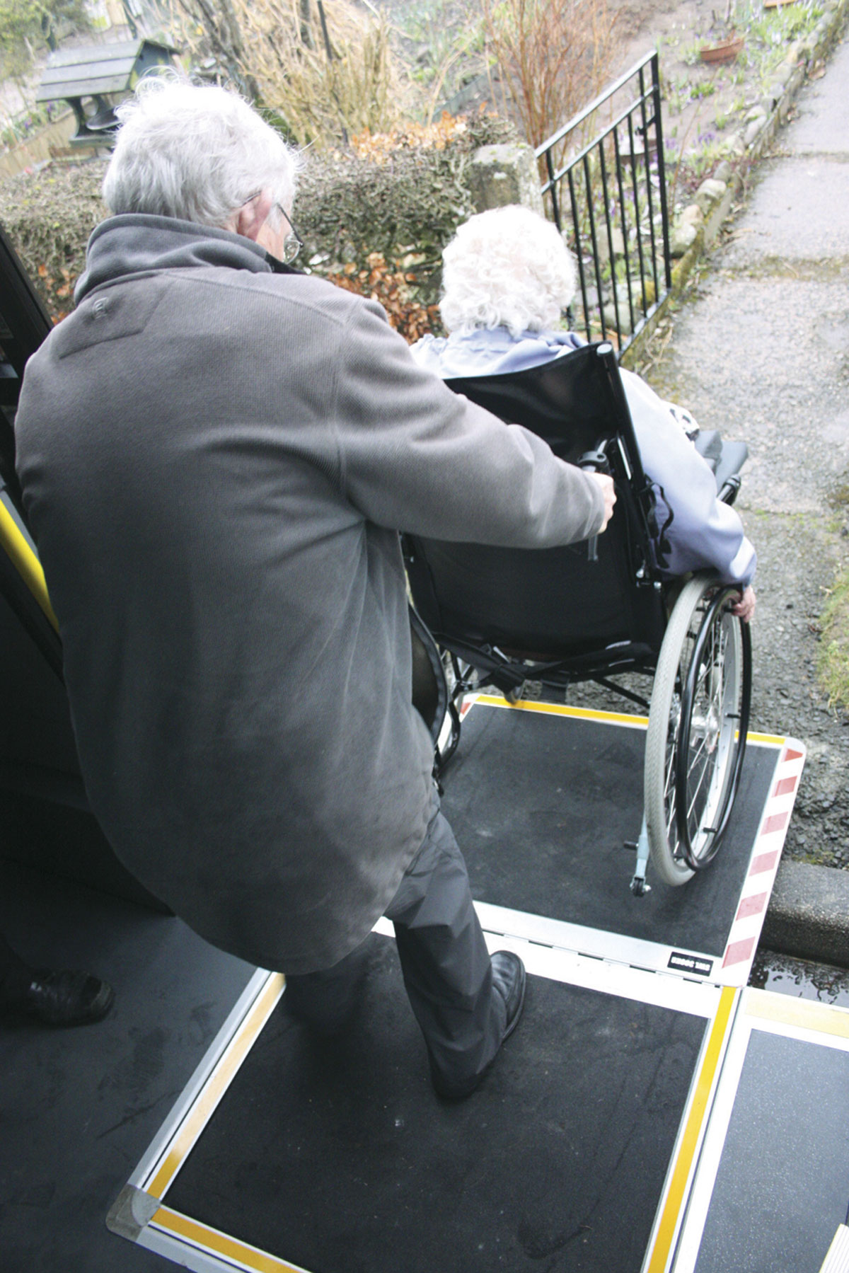 Exiting the vehicle is just as easy and both entering and leaving the vehicle can be easily tackled by wheelchair users without additional assistance