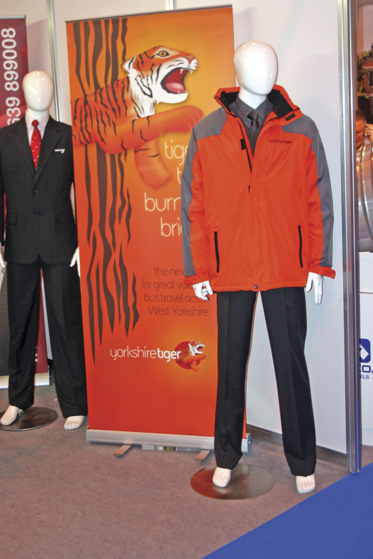 First Corporate Clothing designed and supplied Yorkshire Tiger's new uniform
