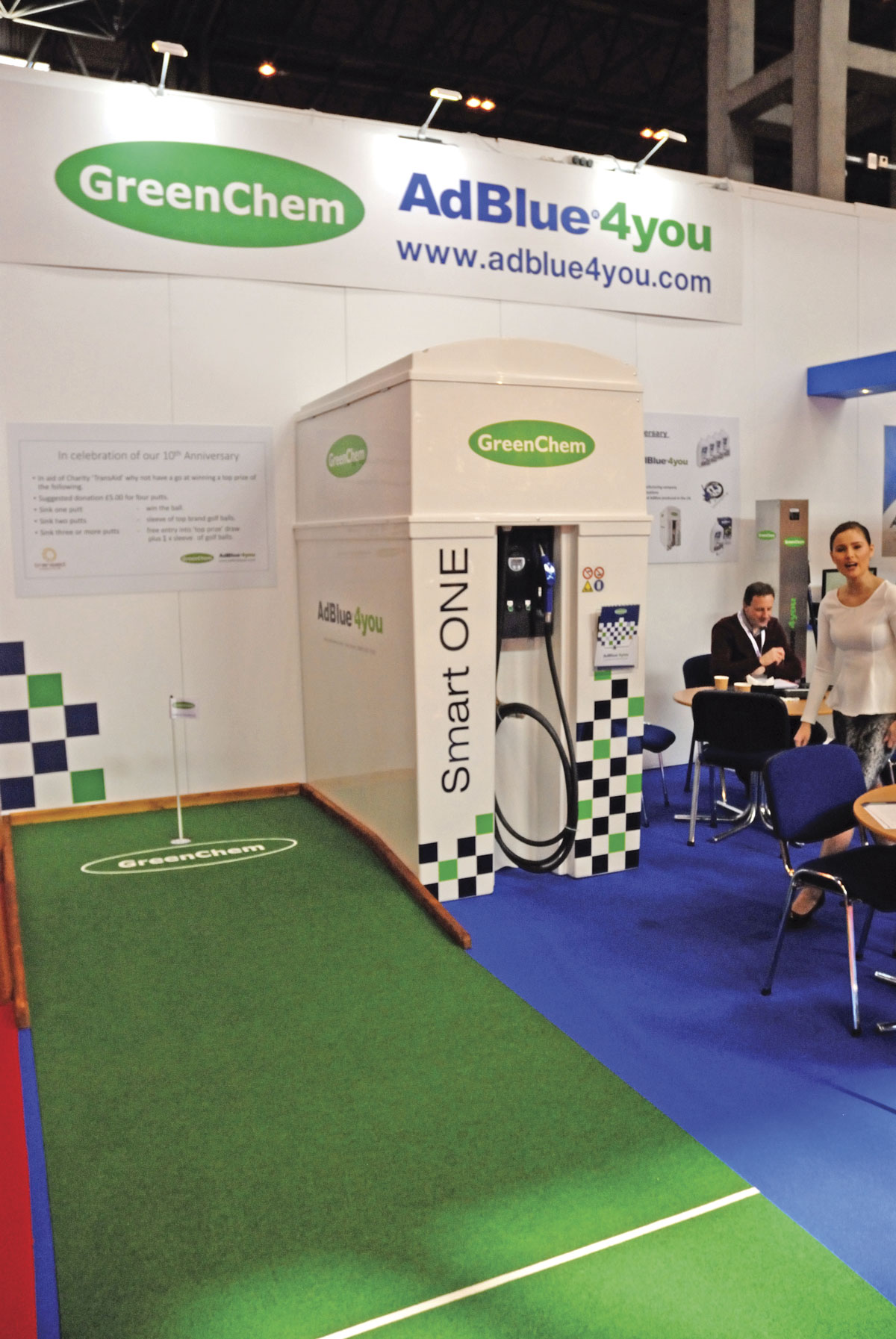 GreenChem's Smart ONE AdBlue storage, dispensing and management unit