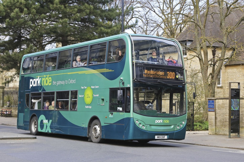 Inductively charged electric buses are proposed to replace the ADL E400H Hybrids currently used on Oxford's five park and ride services