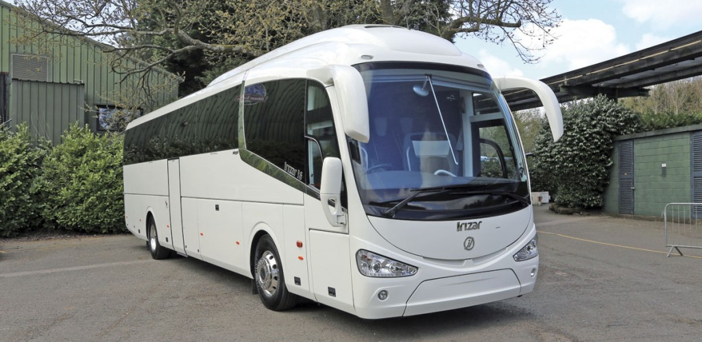 Irizar UK showed this i6 Integral