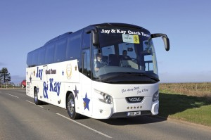 Jay & Kay Coach Tours's VDL Futura FHD2 took the Bova Trophy for the Best Bova-VDL Futura