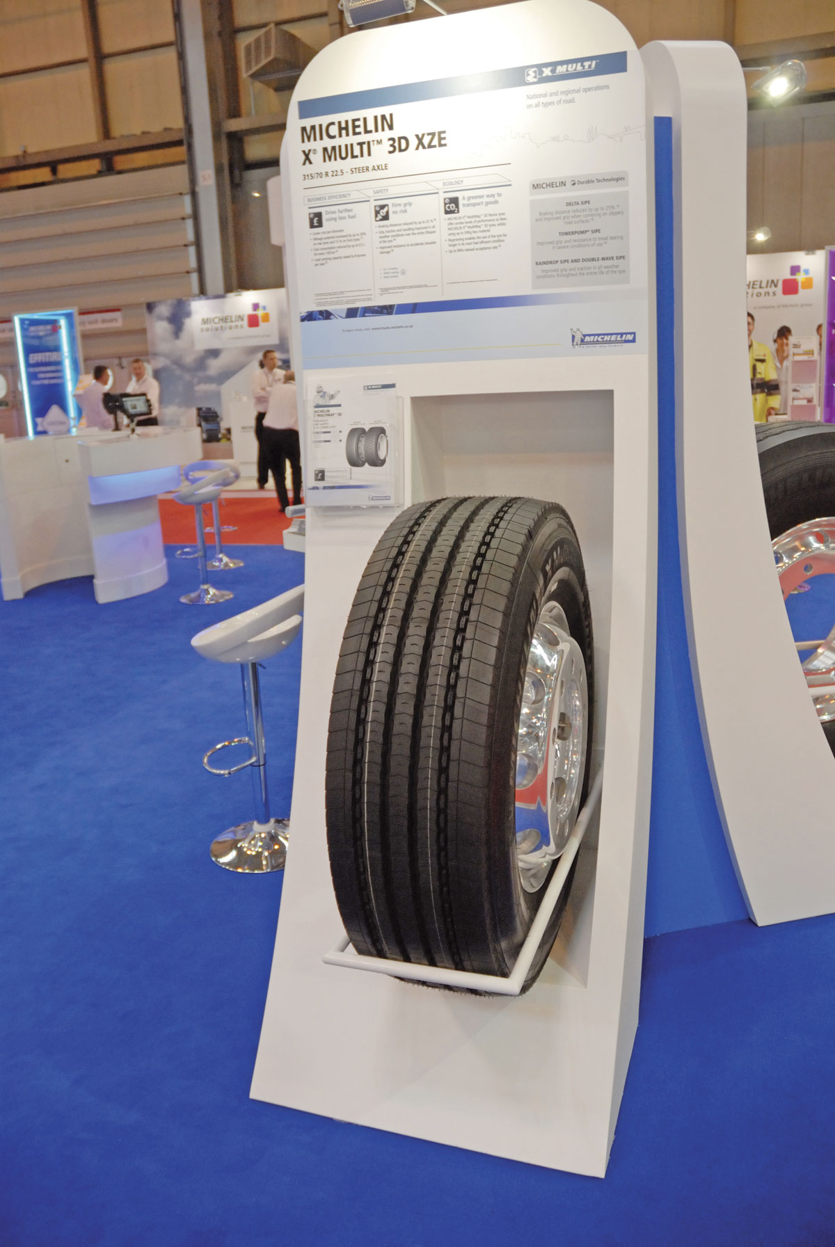 Michelin's X Multi 3D XZE