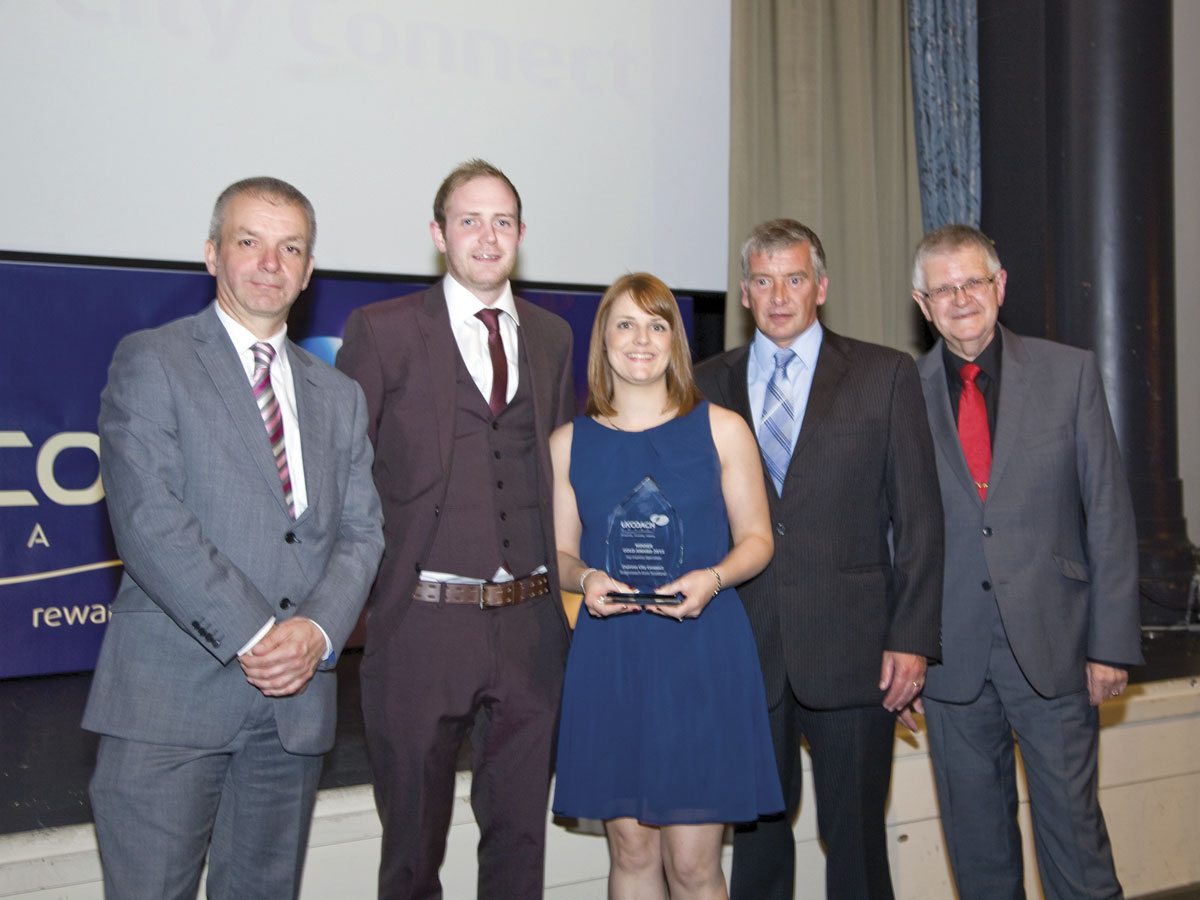 Stagecoach East Scotland won the Top Express Operation category