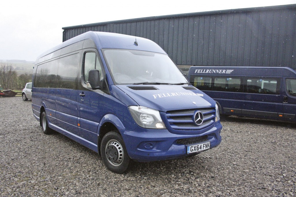 The Community is built using a Mercedes-Benz five tonnes Sprinter 516 in long wheelbase form