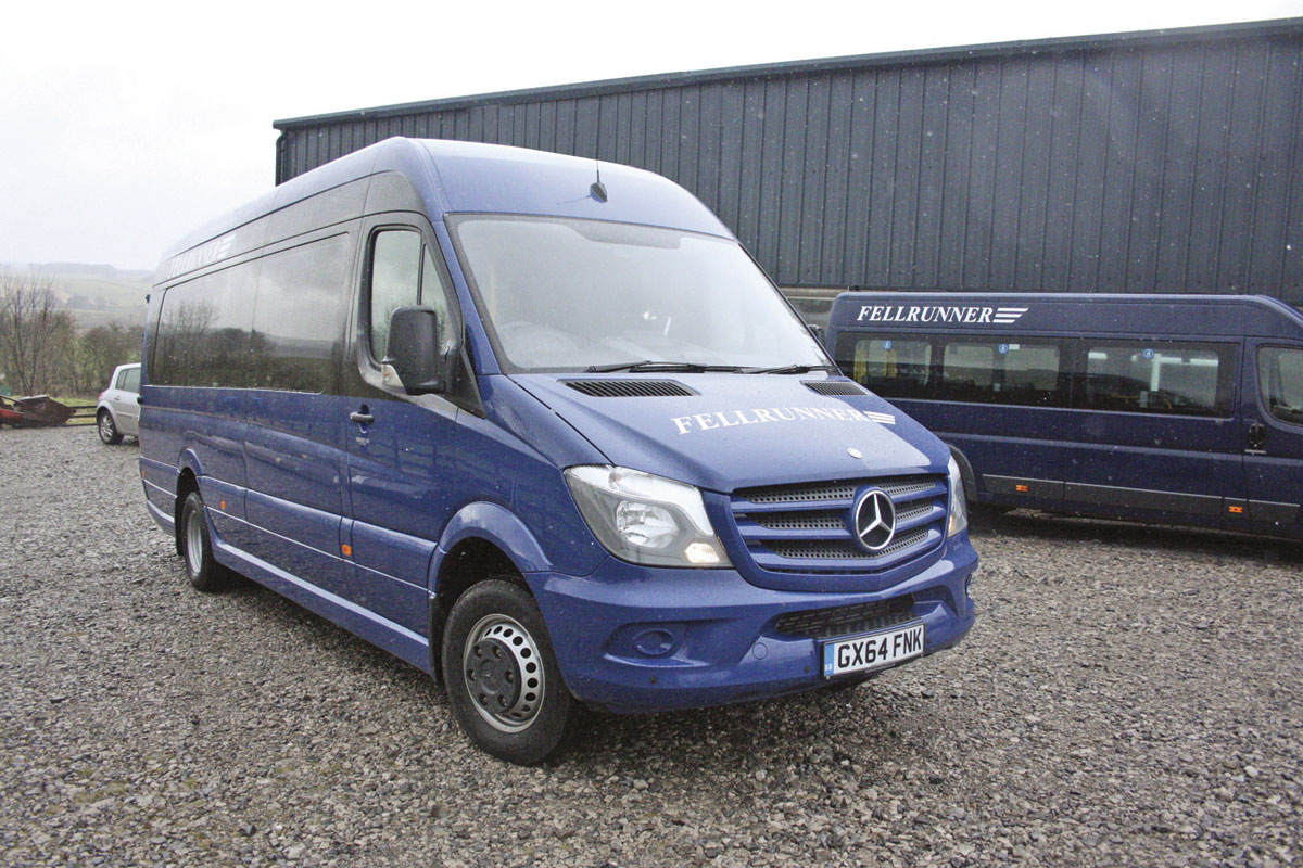 The Community is built using a Mercedes-Benz five tonnes Sprinter 516