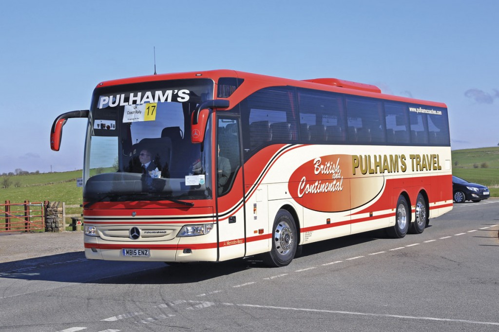 The Top Touring Coach was Pulhams' Mercedes-Benz Tourismo M