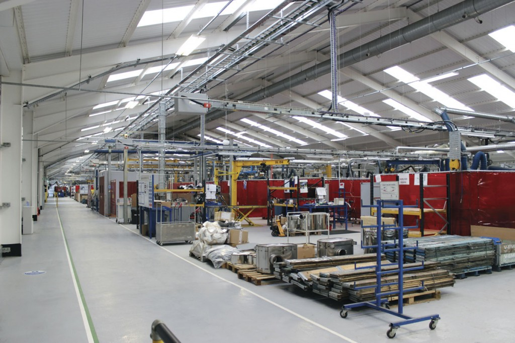 The new Eminox facility has provided scope for growth and an improved working environment for staff