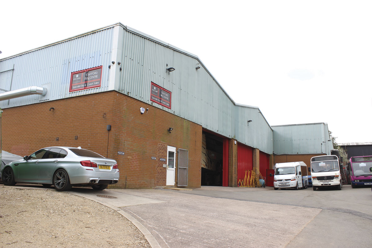 The site provides a good combination of space, office accommodation and workshop facilities