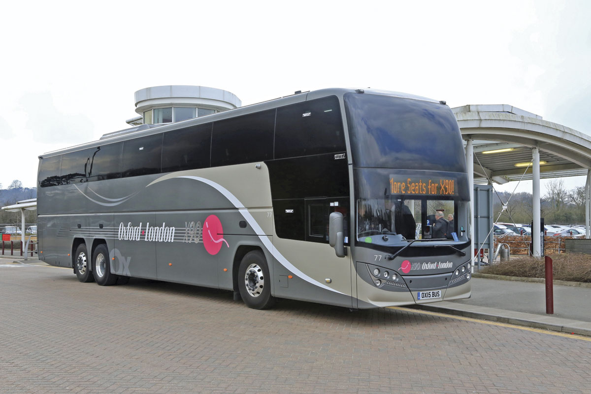 Oxford Bus Invests In X90 Bus Amp Coach Buyer