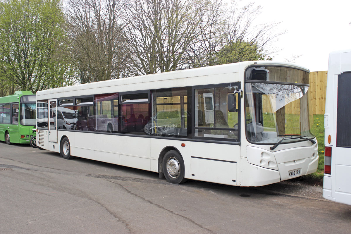 This ADL Enviro300 is very low mileage