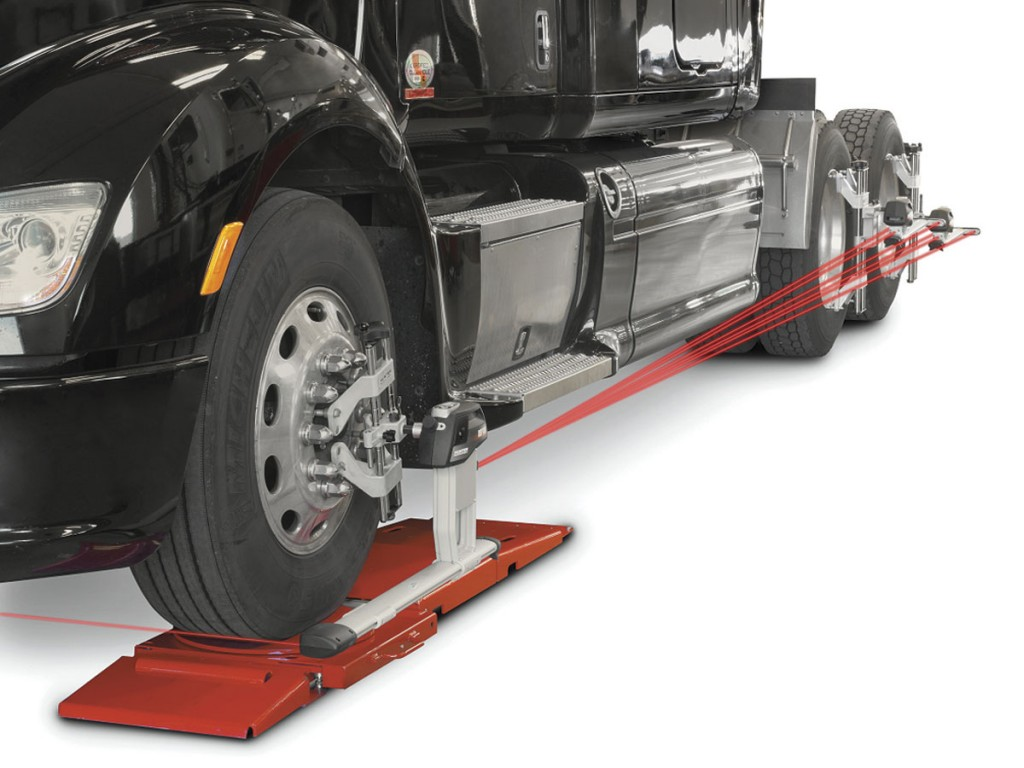Pro-Align is to debut its new Hunter CV wheel alignment system.