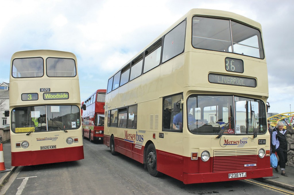 Alexander bodies on an Atlantean AN68 and an Olympian from the former Merseybus fleet