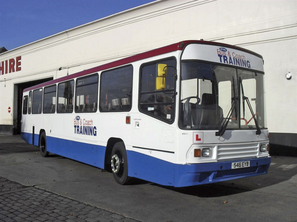 An EYMS training bus
