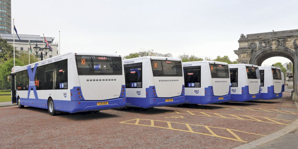 Fare promotion graphics were subsequently added to the rear of the MetroCitys but these proved controversial and were removed after the first day of operation following a campaign on social media