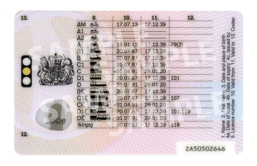 From 8 June 2015, the photocard will be the only physical drivers' licence document to be distributed by the DVLA. The paper counterpart is to be abolished