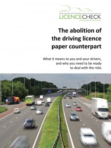 LicenceCheck has released information addressing the removal of the driving licence paper counterpart