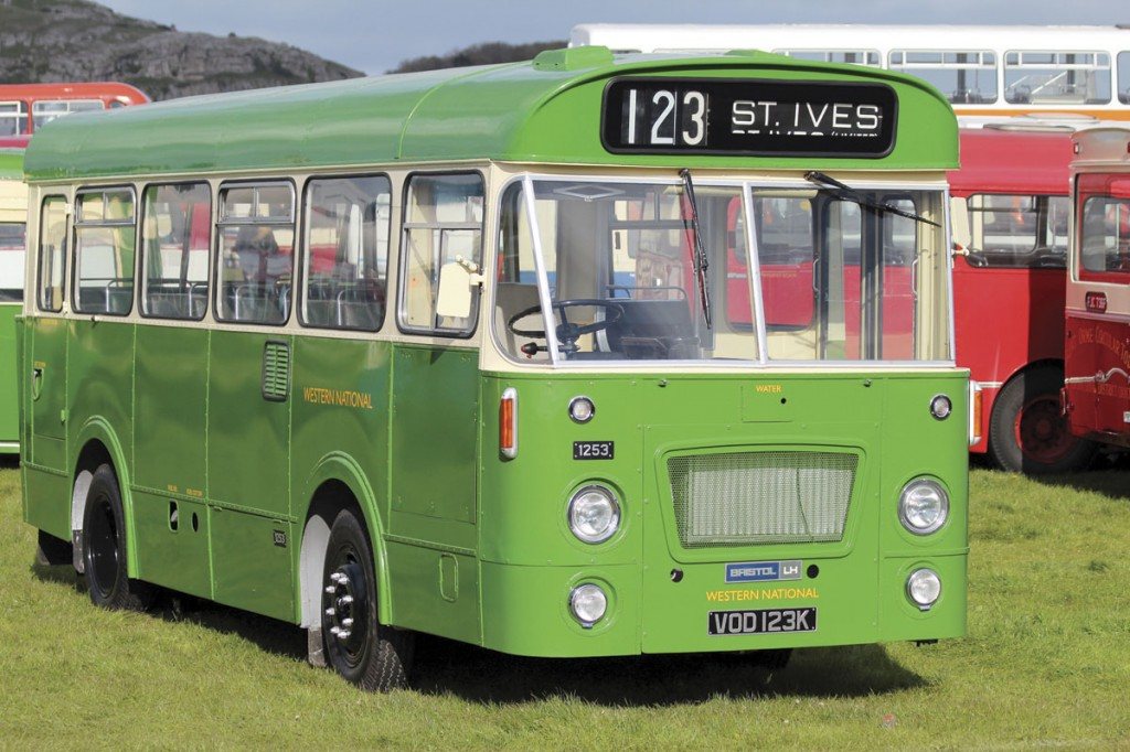Looking absolutely immaculate was this newly restored Bristol LH with Marshall body used by Western National on narrow lanes