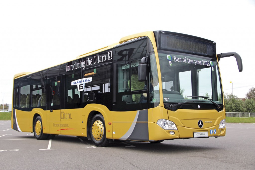 No orders have yet been announced but it is hoped that the first orders for the Citaro K will be placed soon